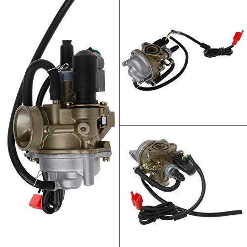 Carburador 50cc DIO 50 18 27 28 SA50 SK50 SYM DD50 SP ZX34 35 Scooter Kymco Carburador de 19 mm for Coches Accesorios 2 Tiempos Carburador de Motocicletas