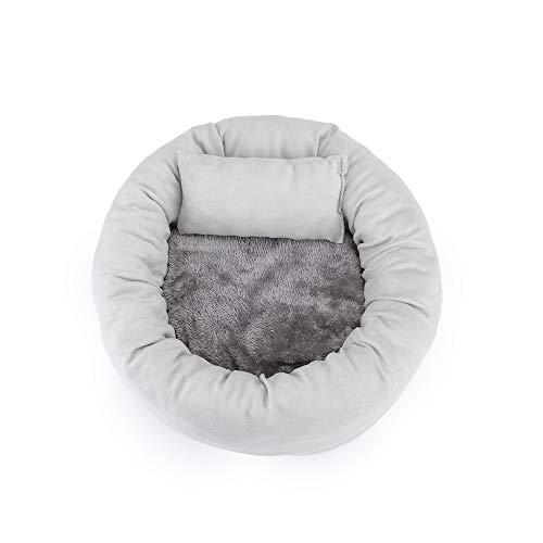Cama creativa para gatos con forma de tarta, caseta de perro, sofá de cristal súper suave para gatos de cuatro estaciones, muebles para gatos, extraíble y lavable, suave y cómodo.