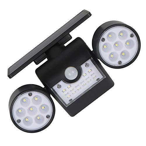 DDXI Noodverlichting draagbare outdoor menselijk lichaam inductie camping licht, dubbele kop multi-positie roterende verlichting wandlamp. Waterdicht van binnen en van buiten. Geschikt voor binnen- en buitengebruik: thuis