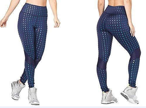 LLZSMJ Collants de Sport Pantalon en Coton Tricoté pour Femmes, Collants De Course, Pantalons, Legging, Glamour, Taille Haute, Panneaux De Cheville