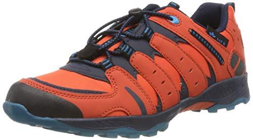 Lico Fremont, Chaussures de Randonnée Basses Mixte, Orange, Orange, Bleu Marine, Bleu pétrole, Orange, Bleu Marine, 37 EU