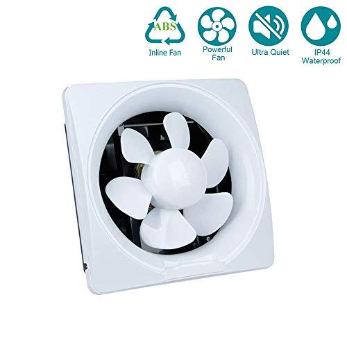 YUN Extractor Fans@ Inline-Lüfter, 6 Zoll Abluftventilator Ultra-leise mit Effiziente Belüftung, Wand-Ventilator für Küche/Badezimmer/Schlafzimmer/Büro (200mm),10inch