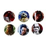 Paladone- Star Wars Pin's The Last Jedi, Unisexe-Adulte, PP3818SW, Taille unique