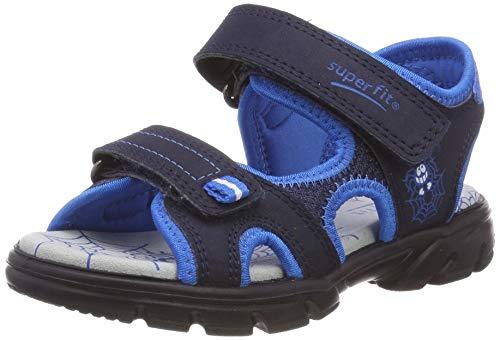 Superfit Jungen Scorpius Sandalen, Blau (Blau/Blau 82), 35 EU