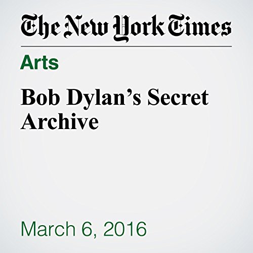 Bob Dylan's Secret Archive audiobook cover art
