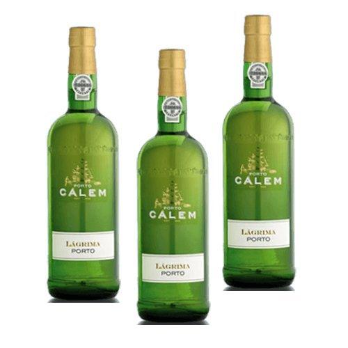 Vino de Oporto Calem Lagrima - Vino Fortificado- 3 Botellas