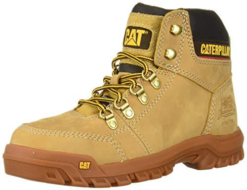 Caterpillar Men's Outline Steel Toe Work Boot, Honey Reset, 10 M US