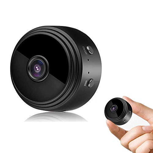 MandoPon Hidden Camera 1080P Small-Cam Mini Nanny-Cam with Audio and Video Recording Micro Surveillance Camera for Live Stream/Night Vision/Motion Activated with Phone APP