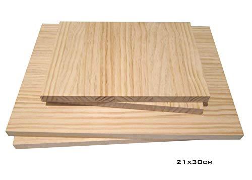 Grosor 10 mm CNC chapas de abedul lijado en ambas caras Especial para cortes con l/áser Chely Siglo tableros madera contrachapado de 200 x 300 mm Pirograbado y Calado