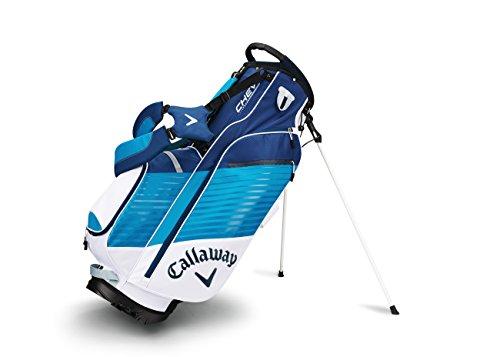 Callaway da Uomo Chev Stand Golf Club Bags, Uomo, Chev Stand, White/Navy/Blue, Taglia Unica