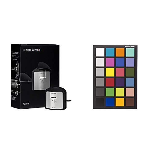 X-rite i1Display Pro - Calibrador y perfilador de pantallas y monitores + Datacolor Spydercheckr 24 [Importación Alemana]