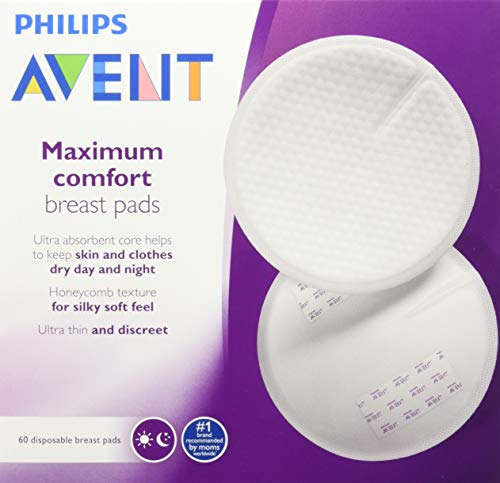 Great Price! Philips Avent Maximum Comfort Breast Pads, 60 Count
