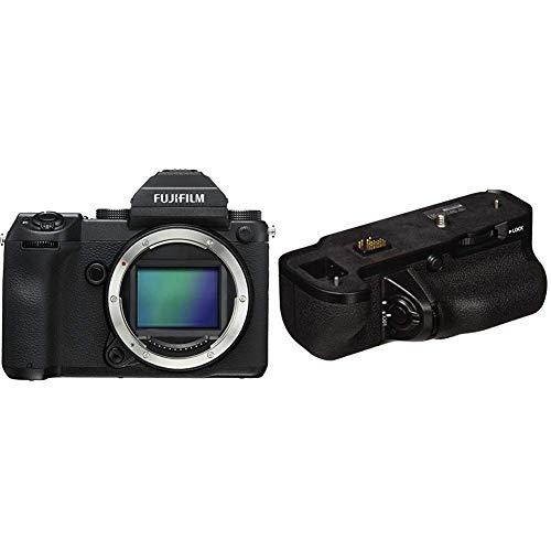 Fujifilm GFX 50S 51.4MP Mirrorless Medium Format Camera (Body Only) + Fujifilm VG-GFX1 Vertical Battery Grip