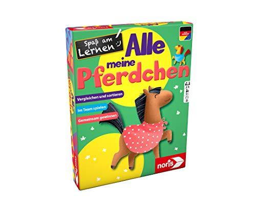 Noris 606071865 Spaß am Lernen, Alle Meine Pferdchen, das kooperative Pferdespiel mit Lerncharakter, ab 5 Jahren
