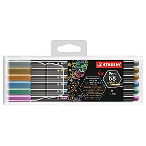 STABILO Pen 68 Multiliner Set, 6-Colors