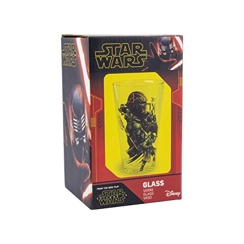 Vaso de cristal Star Wars Episodio IX (400 ml)