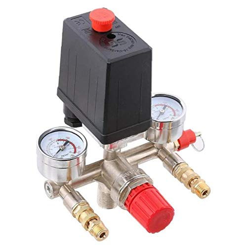Air Compressor Automatic Pressure Control Switch Assembly Valve Outlet Regulator