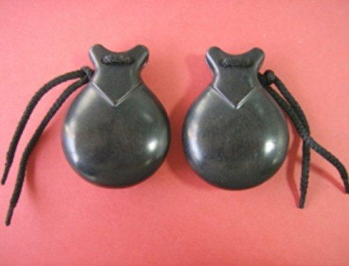 Castañuela profesional de granadillo negro con pico Jale (83/8)
