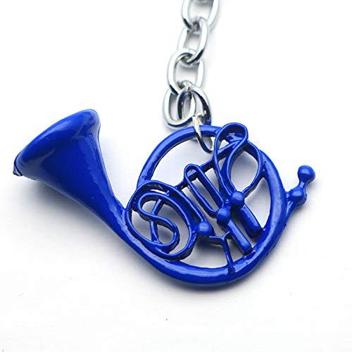 N/ A 1 stuks Ik heb je moederblauwe sleutelhanger met Franse hoorn en het cadeau voor Moederdag van de zilveren kettingen - tv-serie sieraden gemaakt
