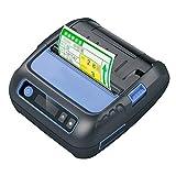 Etikettendrucker Handgerät Etikettiermaschine 80mm Bluetooth Thermodrucker Pocket Etikettendrucker Label Maker 58mm Bondrucker for Android IOS POS ESC Elektronisches Beschriftungsgerät
