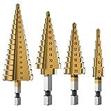 HOTBESTUS Step Drill Bits