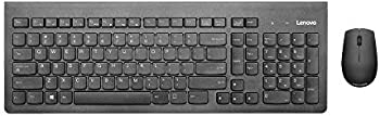 Lenovo 500 Wireless 2.4 GHz Keyboard and Mouse Combo