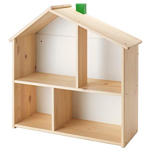 IKEA ASIA FLISAT Estante de pared para casa de muñecas