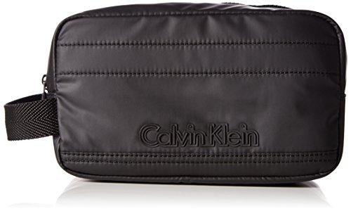 Calvin Klein Jeans Herren METRO WASHBAG Taschenorganizer, Schwarz (BLACK 001), 15x25x13 cm