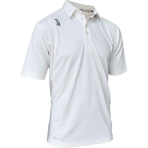 KOOKABURRA Cricket-Shirt für Jungen, Größe S, cremefarben