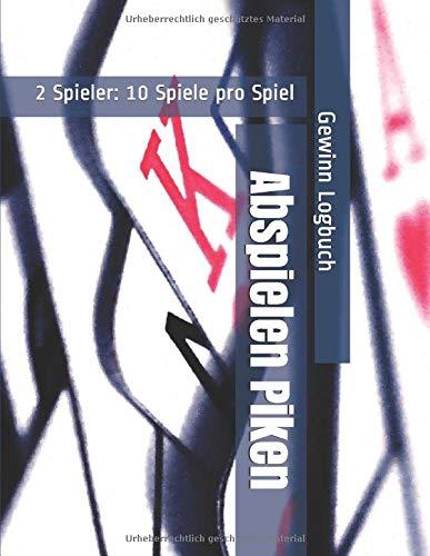 Abspielen Piken - 2 Spieler: 10 Spiele pro Spiel - Gewinn Logbuch