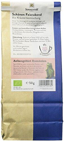 Sonnentor Schönen Feierabend-Kräutertee lose, 1er Pack (1 x 50 g) – Bio - 2