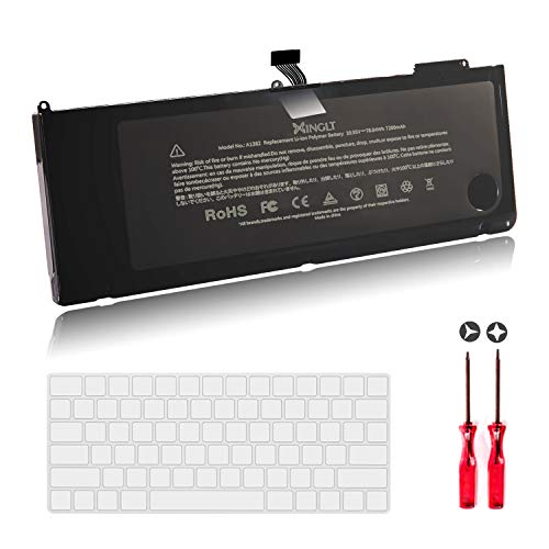 A1382 Laptop Battery for Apple MacBook Pro A1286 15 inch [EMC Number:2353-1, 2563,2556] Only for MacBook Pro A1286 15' Early 2011, Late 2011, Mid 2012 Version High Capacity 7200mAh 10.95V/78.84Wh