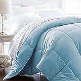 Luxury King/Cal King - 1600 Series Down Alternative, Home Bedding & Duvet Insert - Sky Blue
