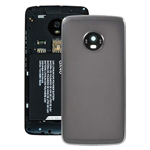 MOTOTROLASPAREPARTS For Motorola Repuestos Tapa Trasera de batería for Motorola Moto G5 Plus (Gris) (Color : Grey)