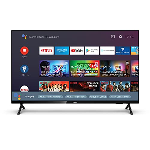 Philips 108 Cm (43 Inches) Full HD LED Android Smart LED TV 43PFT6915/94 (Black) (2021 Model) | With Google Assistant