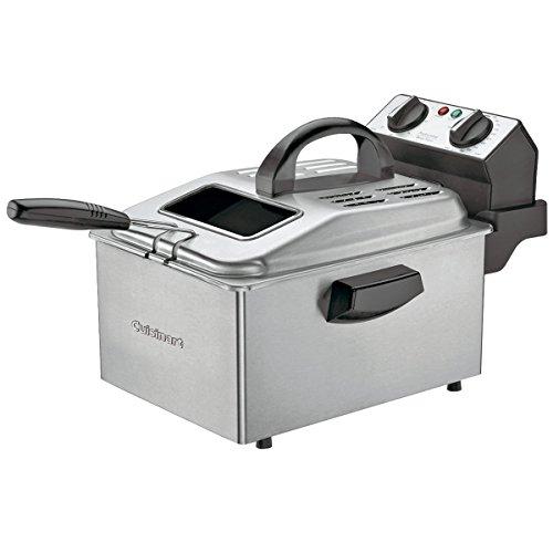 Cuisinart DF250 1800-Watt 2-1/5-Pound-Capacity Deep Fryer, Brushed Stainless