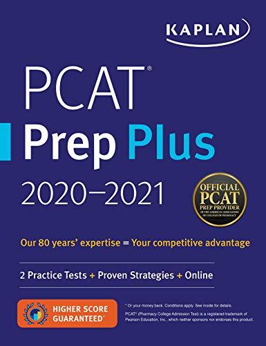PCAT Prep Plus 2020-2021