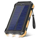 Best Battery Packs - Solar Charger 30000mAh, Portable Solar Power Bank External Review