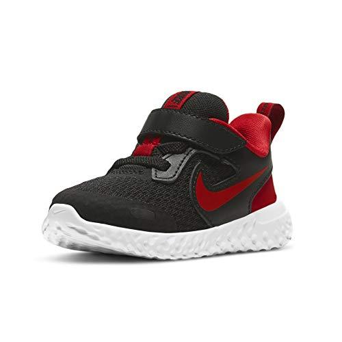 Nike Revolution 5 (TDV), Zapatillas Deportivas Unisex niños, Black Univ Red White, 26 EU