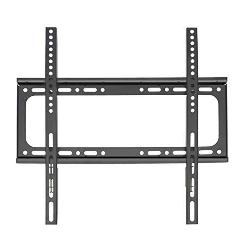 WHZG Soporte TV Montaje de TV fijado para TV LCD de 32-65 pulgadas, soporte de montaje en pared de TV hasta VESA 400x400mm y capacidad de carga 121.3 lbs, perfil bajo y ahorro de espacio soporte pared