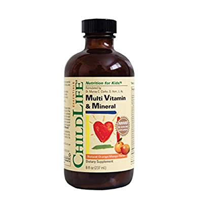 Childlife Child Life Multi Vitamin And Mineral, 8-Ounce by Child Life