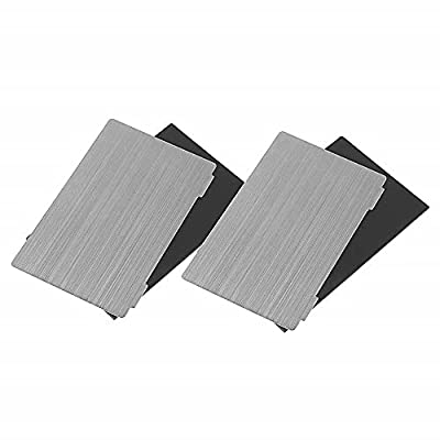Creality Flexible Steel Plate and Magnet Sticker Compatible with LD-002R Resin 3D Printer 138 x 78 x 0.4 mm (2 Sets)