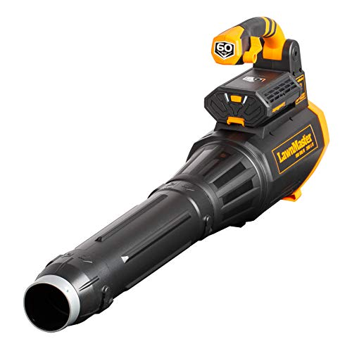 Lawnmaster Powerful 60V Max Cordless Leaf Blower with Variable Speed...