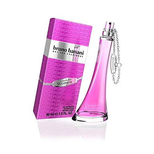 bruno banani Made for Women – Eau de Toilette Natural Spray – Verspielt-verführerisches Damen Parfüm – 1er Pack (1 x 40ml)