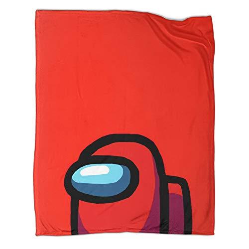 Xaviera Doherty Among Us Limited Art Manta cálida de felpa de 130 x 180 cm. Tema de moda para cama/sofá/sala/habitación/dormitorio.