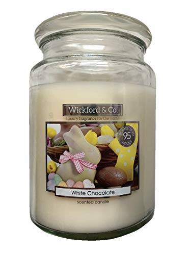 Warm Apple /& Cinnamon Scented Christmas Candle FREE POSTAGE Wickford /& Co