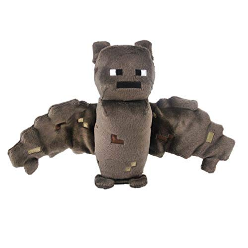 Minecraft Overworld Bat ~7' Mini-Plush Series Brown, 4.2inches