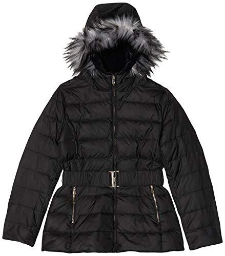 United Colors of Benetton Damen Jacke Jacket, Schwarz (Black 100), 38 (Herstellergröße: 42)