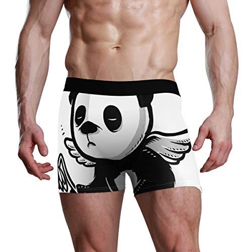 MONTOJ Herren Boxershorts Panda Angel Gr. X-Large, 1