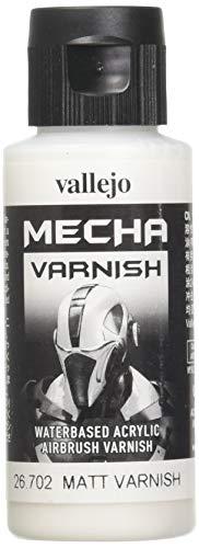 Vallejo AV Mecha Acryl-Farbe für Airbrush, 60 ml, Matt Varnish, 60 ml